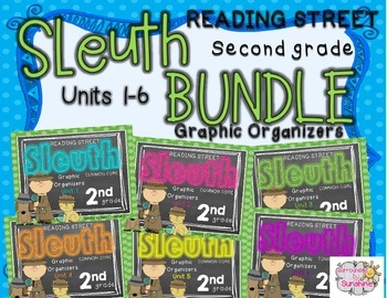 Grade 2 Reading Street SLEUTH Units 1-6 BUNDLE