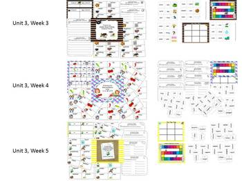 Grade 2 Reading Street Simple Centers Unit 3 Bundled set