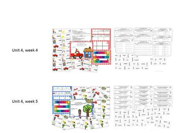 Grade 2 Reading Street Simple Centers Unit 4 Bundled set