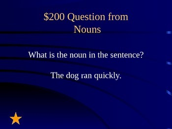 Grade 2 Reading Street Unit 2 Grammar Review Jeopardy