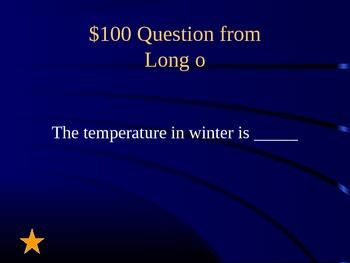 Grade 2 Reading Street Unit 3 Phonics Review Jeopardy
