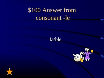 Grade 2 Reading Street Unit 4 Phonics Review Jeopardy