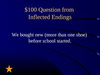 Grade 2 Reading Street Unit 6 Phonics Review Jeopardy