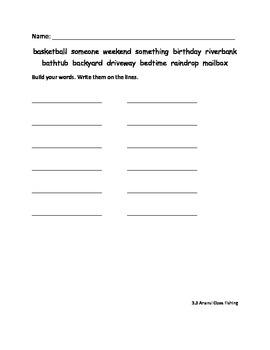 Grade 2 Reading Street Word Work Sheets