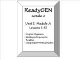 Grade 2 ReadyGEN: Unit 3, Module A - All Graphic Organizer