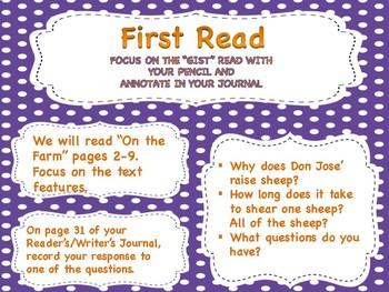 Grade 2 ReadyGen Unit 1 Module B Lessons 1-12