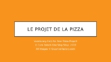 Grade 2 (SK Level 4) Core French Pizza Project Helping Slides