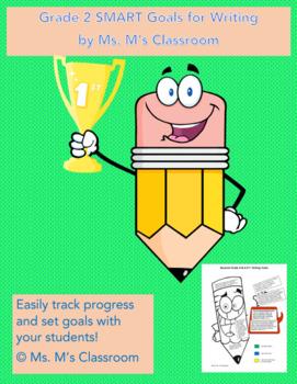Grade 2 SMART Goals for Writing