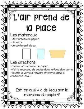 French Grade 2 Air Centres / Centres d'air 2e année