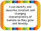 Grade 2 Science I Can Statements