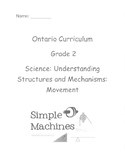 Grade 2 Science Structures and Mechanisms Test (Ontario)