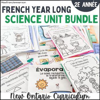 *Bundle* Sciences - 2e année (4 unités)