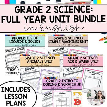 Grade 2 Science Unit Bundle (English Version)