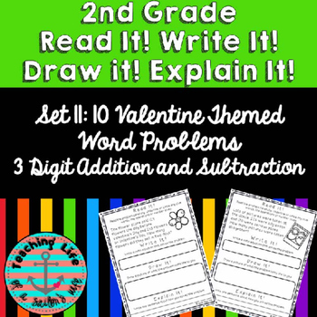 Grade 2-Set 11-Read It! Write It! Draw It! Explain It! - V