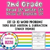 Grade 2-Set 13-Read It! Write It! Draw It! Explain It! - 3