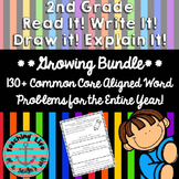 Grade 2 - Read It! Write It! Draw It! Explain It! *Bundle*