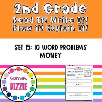 Grade 2-Set 15-Read It! Write It! Draw It! Explain It! - Money
