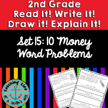 Grade 2-Set 15-Read It! Write It! Draw It! Explain It! - Money