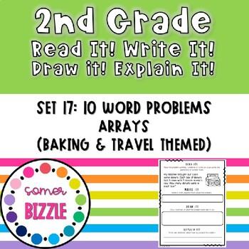 Grade 2-Set 17-Read It! Write It! Draw It! Explain It! - Arrays