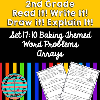 Grade 2-Set 17-Read It! Write It! Draw It! Explain It! - Arrays