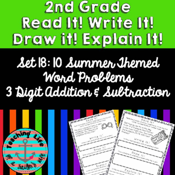 Grade 2-Set 18-Read It! Write It! Draw It! Explain It! - S
