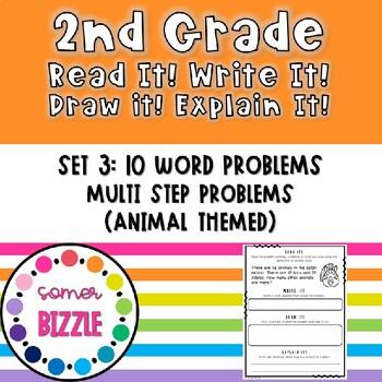 Grade 2-Set 3-Read It! Write It! Draw It! Explain It! - Mu
