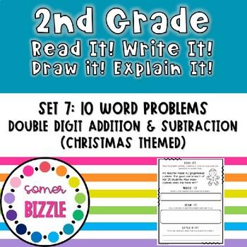 Grade 2-Set 7-Read It! Write It! Draw It! Explain It! - Christmas