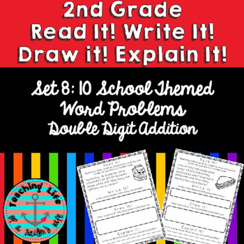 Grade 2-Set 8-Read It! Write It! Draw It! Explain It! - 2