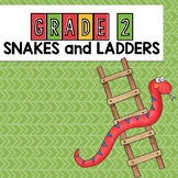Grade 2 Sight Word Snakes and Ladders Game Dolch words