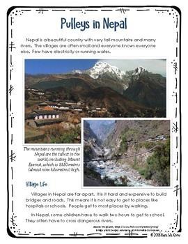 Movement: Pulleys in Nepal Mini-BUNDLE (FREEBIE)