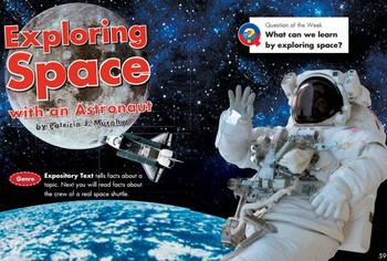 Grade 2 | Smartboard Lesson | Reading Street |  Unit 1.2 | Exploring Space