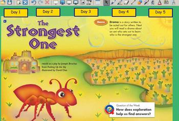 Grade 2 | Smartboard Lesson | Reading Street |  Unit 1.5 | The Strongest One