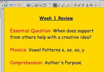 Grade 2 | Smartboard Lesson | Reading Street |  Unit 3 Review