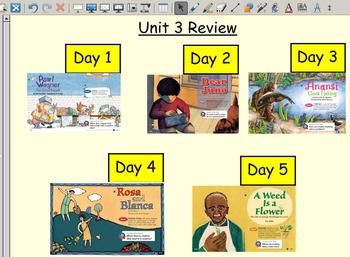 Grade 2 | Smartboard Lesson | Reading Street |  Unit 3 Review