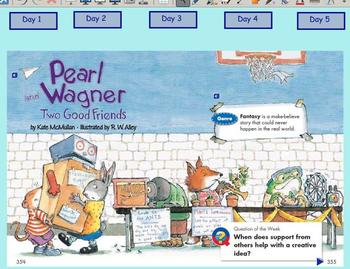 Grade 2 | Smartboard Lesson | Reading Street | Unit 3.1 | Pearl and Wagner