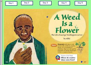 Grade 2 | Smartboard Lesson | Reading Street | Unit 3.5 | A Weed is a Flower