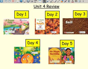 Grade 2 | Smartboard Lesson | Reading Street |  Unit 4 Review