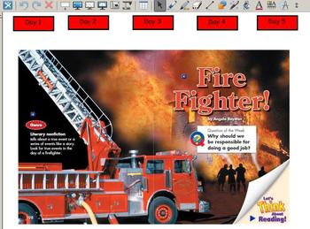 Grade 2 | Smartboard Lesson | Reading Street | Unit 5.1 | Firefighter!