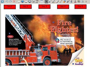 Grade 2 | Smartboard Lesson | Reading Street | Unit 5.1 | Firefighter!