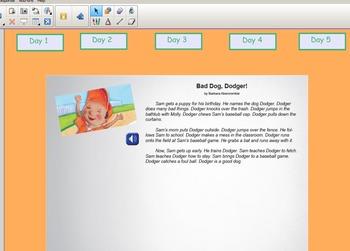 Grade 2 | Smartboard Lesson | Reading Street | Unit 5.3 | Bad Dog, Dodger!