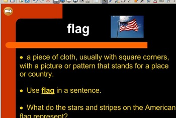 Grade 2   Smartboard Lesson   Reading Street   Unit 6.2   Red, White, and Blue
