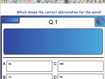 Grade 2 | Smartboard Lesson | Reading Street | Unit 6.2 | Red, White, and Blue