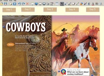 Grade 2 | Smartboard Lesson | Reading Street | Unit 6.4 | Cowboys
