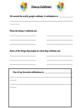Grade 2 Social Studies: Celebrations
