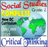 Grade 2 Social Studies: Critical Thinking Skills: NEW BC C