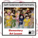 Grade 2 Soft Sculpture Self Portraits