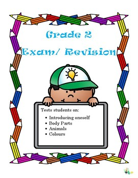 Grade 2 Spanish Exam/ Revision