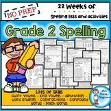 Second Grade Spelling