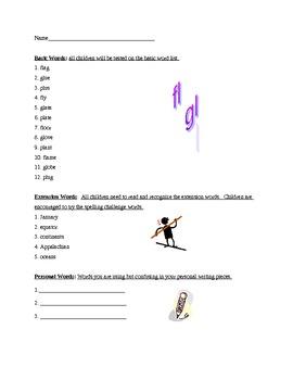 Grade 2 Spelling List Week 11