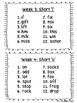 Grade 2 Spelling Lists